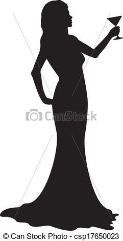 Frau im cocktailglas clipart jpg transparent stock Vektor Illustration von glas, m�dchen, silhouette, Cocktail ... jpg transparent stock