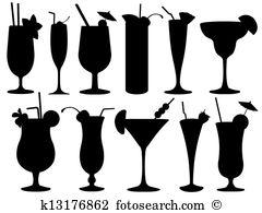 Frau im cocktailglas clipart free library Cocktailglas Stock Illustration. 4.277 cocktailglas Clip Art ... free library
