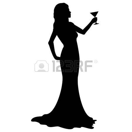 Frau im cocktailglas clipart image library Cocktail Woman Lizenzfreie Vektorgrafiken Kaufen: 123RF image library