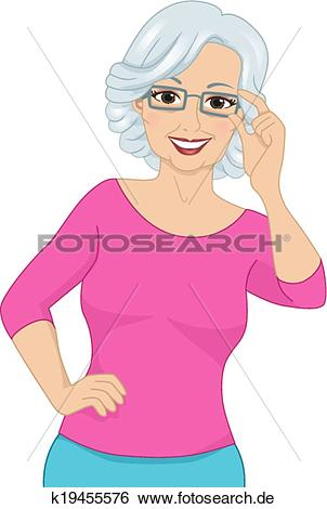 Frau mit brille clipart graphic freeuse stock Brille Clipart Vektor Grafiken. 7.411 brille EPS Clip Art Vektor ... graphic freeuse stock