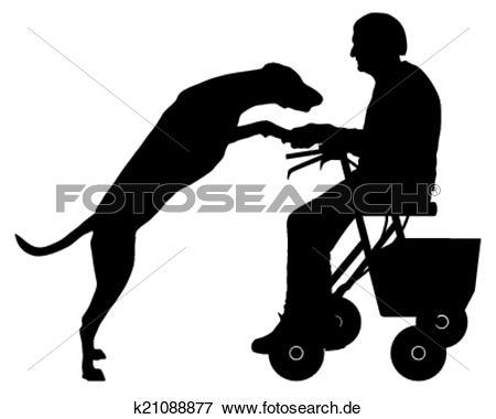 Frau mit hund clipart vector stock Clip Art - alte frau, mit, hund k21088877 - Suche Clipart, Poster ... vector stock