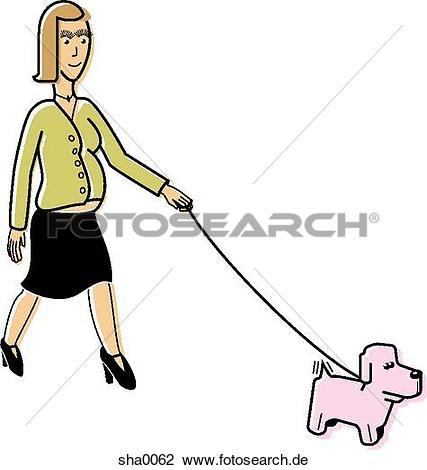 Frau mit hund clipart clip art transparent library Clip Art - schangere frau, gehende, sie, hund sha0062 - Suche ... clip art transparent library
