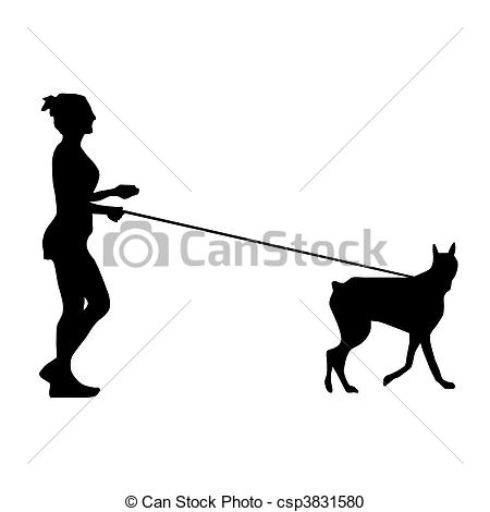 Frau mit hund clipart picture free download Clipart frau mit hund - ClipartFox picture free download