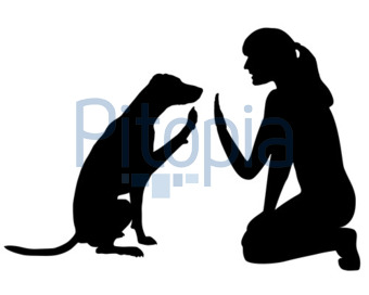 Frau mit hund clipart vector royalty free stock Frau mit hund clipart - ClipartFest vector royalty free stock