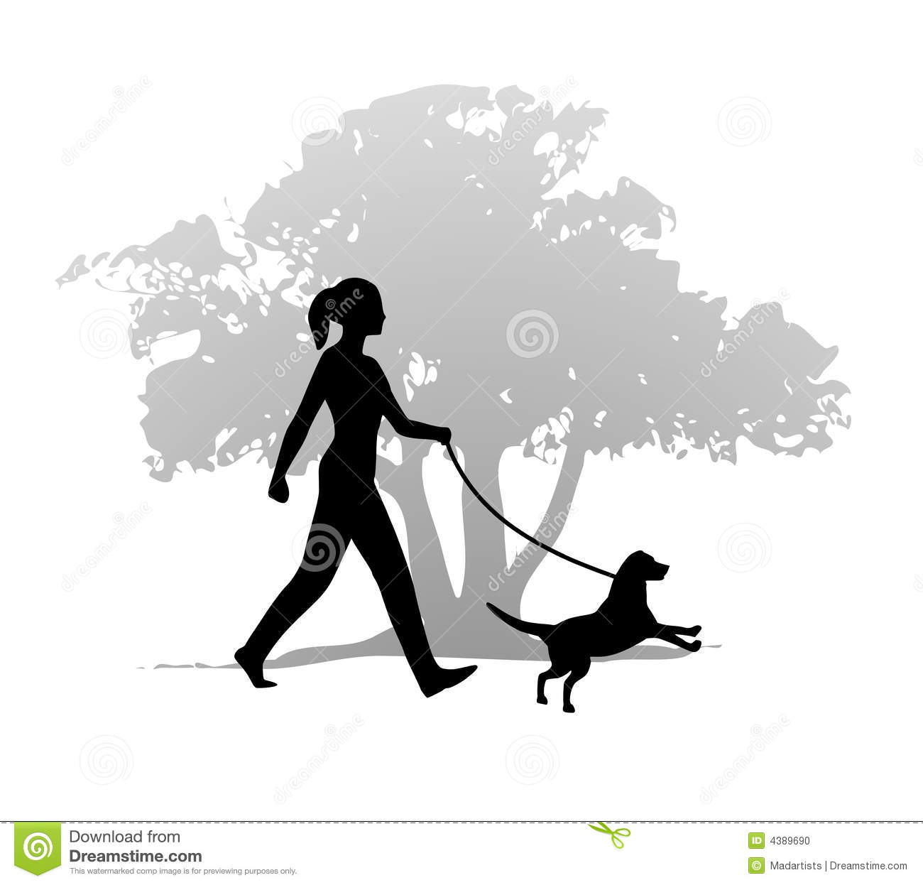 Frau mit hund clipart clip library stock Walk the Dog Funny Clip Art – Clipart Free Download clip library stock