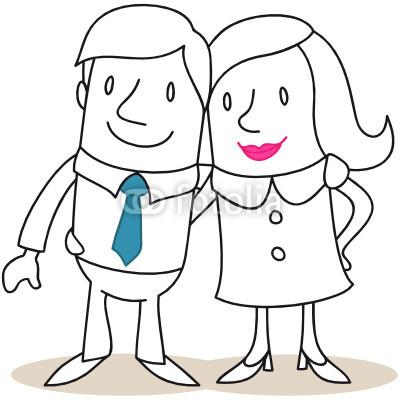 Frau und mann clipart jpg free library Leçon 1 - Lessons - Tes Teach jpg free library