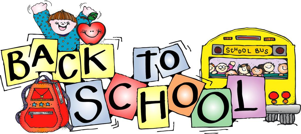 Fre printable school clipart. Back to free cliparts