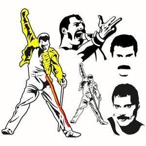 Freddie mercury silhouette clipart. Pin by cuttabledesigns on