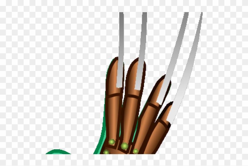 Freddy krueger glove clipart. Claw arrow hd png