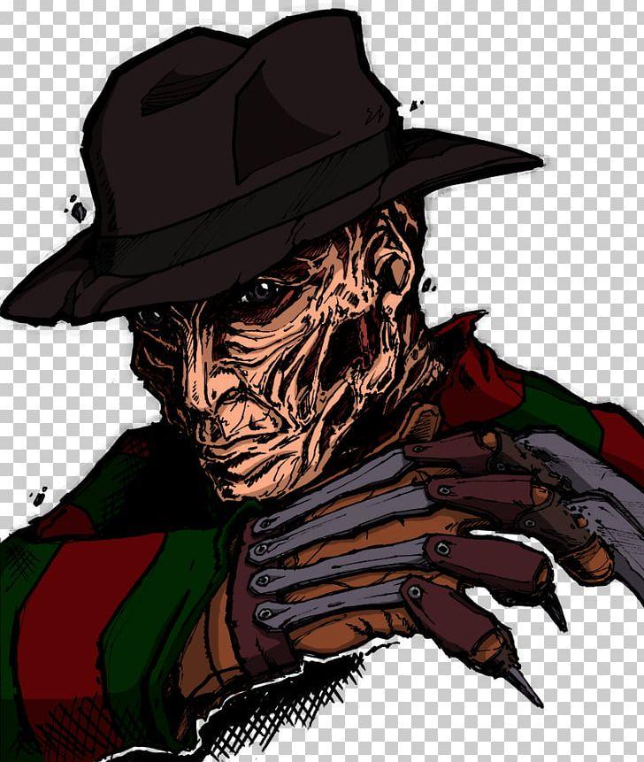 Freddy kruger clipart. Krueger jason voorhees drawing