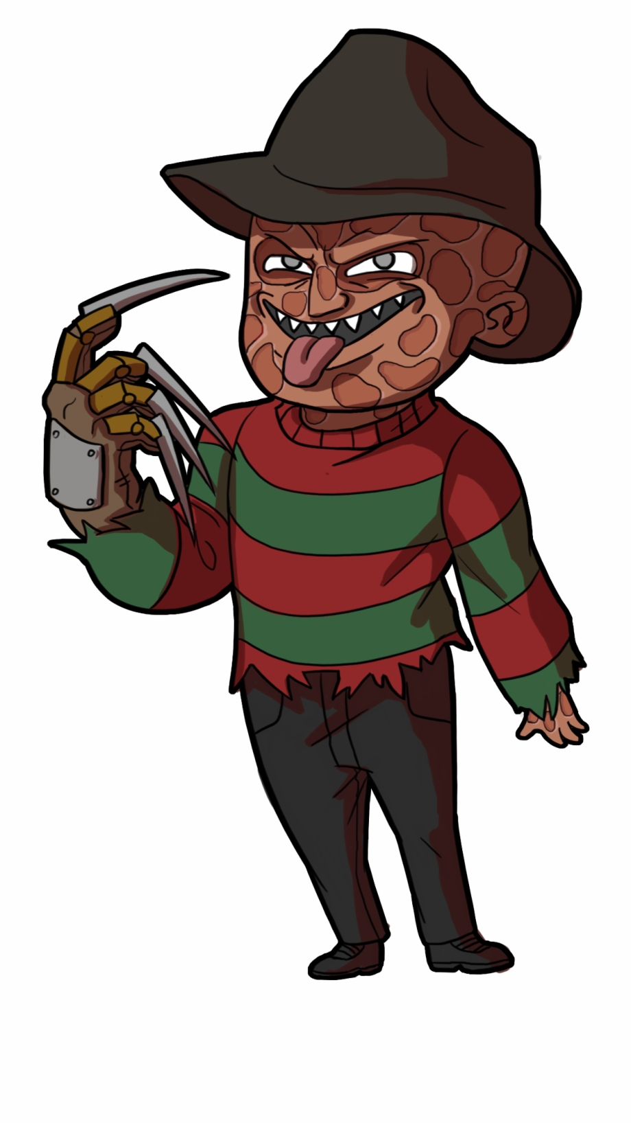 Freddy kruger clipart png royalty free download dead By Daylight #jason Voorhees #freddy Krueger #michael - Cartoon ... png royalty free download