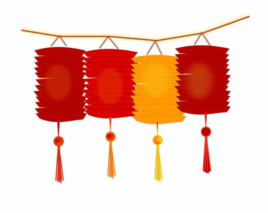 Free 2018 chinese new year lantern clipart jpg library download Chinese New Year Celebration On Thursday, February - Lantern Chinese ... jpg library download
