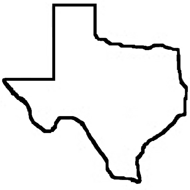 Free 3 5 inch state of texas clipart vector transparent library Free Outline Of The State Of Texas, Download Free Clip Art, Free ... vector transparent library