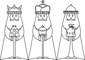 Free 3 wise men clipart black and white png freeuse Free 3 Wise Men Cliparts, Download Free Clip Art, Free Clip Art on ... png freeuse