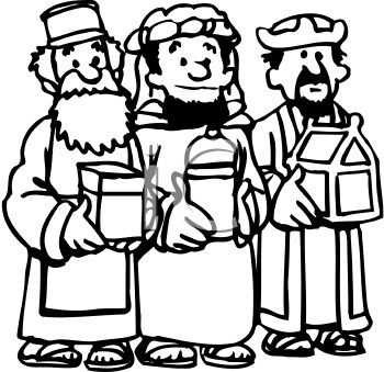 Free 3 wise men clipart black and white picture black and white 3 Wise Men Clipart | Free download best 3 Wise Men Clipart on ... picture black and white