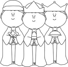 Free 3 wise men clipart black and white clip free download 83 Best 3 wise men images in 2019 | Nativity, Christmas nativity ... clip free download