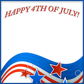 Free 4th of july clipart borders picture library stock Happy 4th of July Borders - Free 4th of July Border Clip Art picture library stock