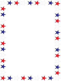 Free 4th of july clipart borders png black and white library Free July 4 Cliparts Borders, Download Free Clip Art, Free Clip Art ... png black and white library