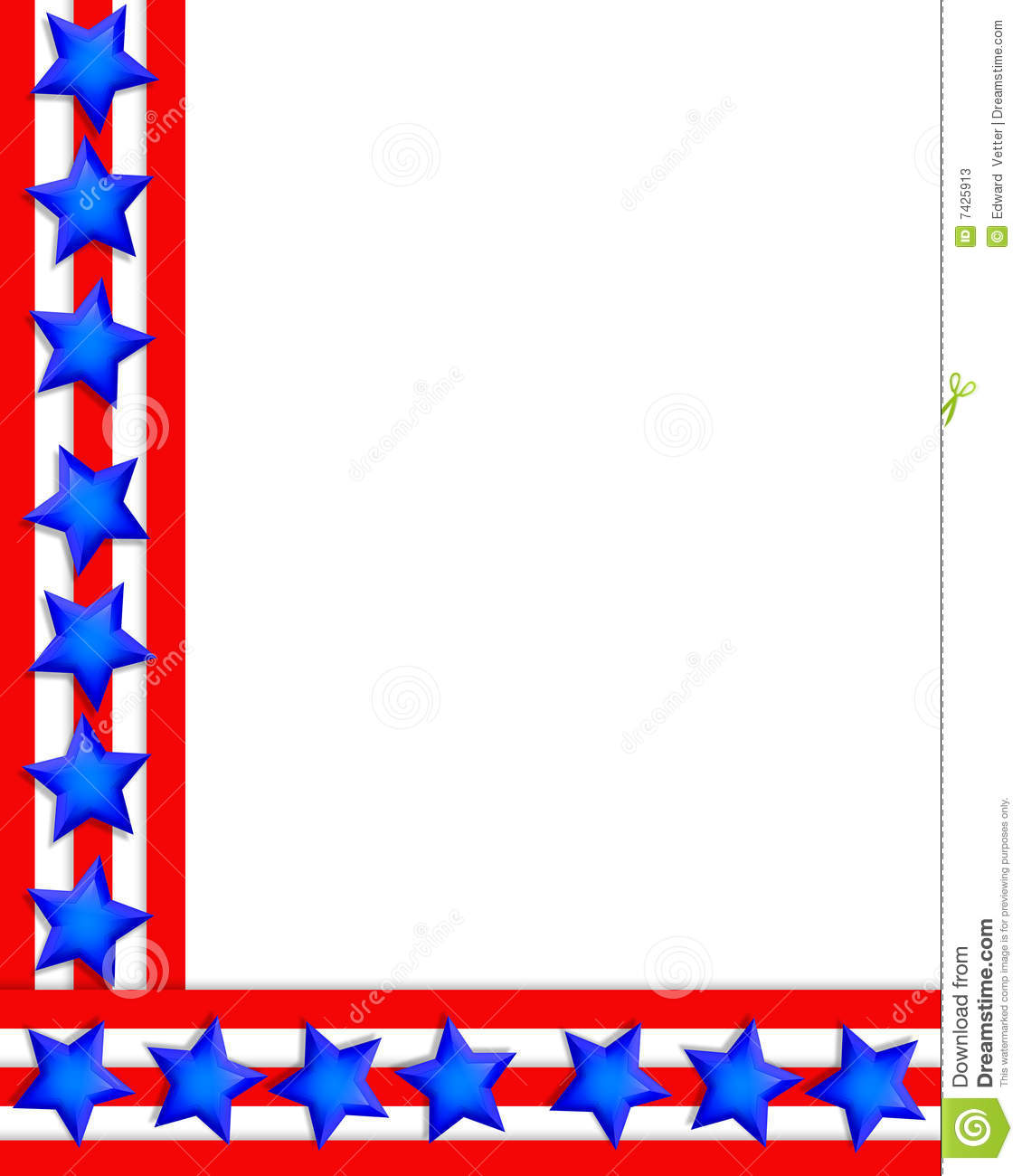 Free 4th of july clipart borders graphic transparent download 4th Of July Fireworks Border   Clipart Panda - Free Clipart Images graphic transparent download