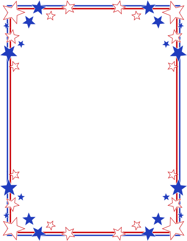 Free 4th of july clipart borders clipart library stock 25+ 4th Of July Page Borders Landscape Pictures and Ideas on Pro ... clipart library stock