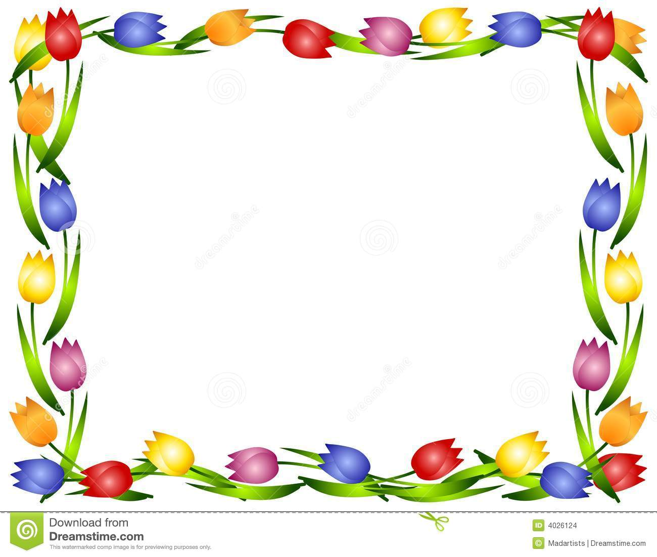 Spring clipart border graphic free stock 50th Birthday Clip Art Borders | Clipart Panda - Free Clipart Images graphic free stock