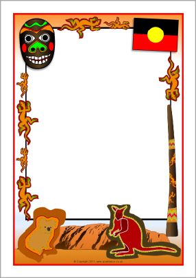 Free aboriginal clipart borders png free download Pinterest png free download