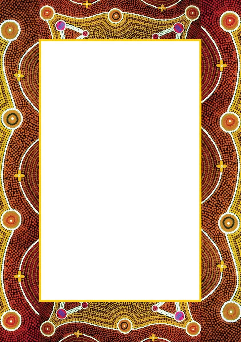 Free aboriginal clipart borders vector black and white stock General Health Aboriginal Artwork Elements Copyright Free For Public ... vector black and white stock