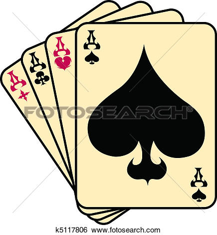 Free ace of spades clip art clip art black and white download Clipart of Ace spades poker gambling clip art k5117812 - Search ... clip art black and white download