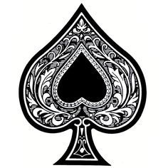 Free ace of spades clip art