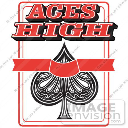 Free ace of spades clip art clipart freeuse stock Royalty-free Cartoon Clip Art of an Ace Of Spades Playing Card ... clipart freeuse stock