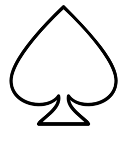 Free ace of spades clip art svg transparent Ace of spades clipart - ClipartFest svg transparent