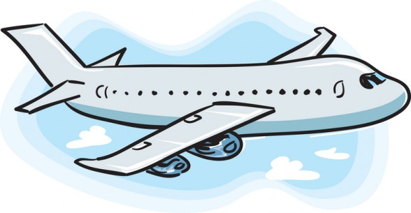Free airplane clipart images. No background panda