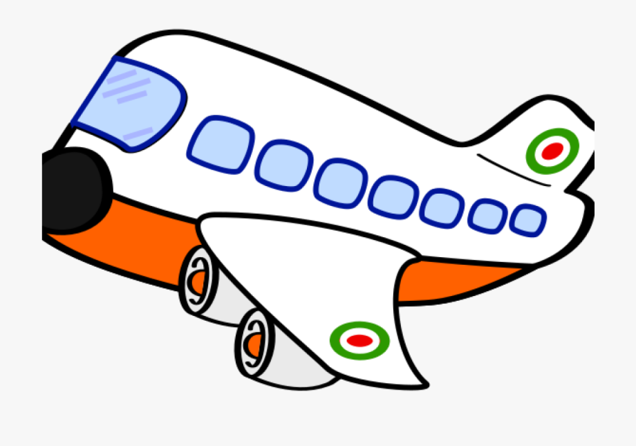 Cartoon png transparent . Free airplane clipart images