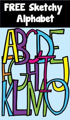 Free alphabet clipart for teachers vector black and white download Alphabet For Teachers Clipart - Clipart Kid vector black and white download