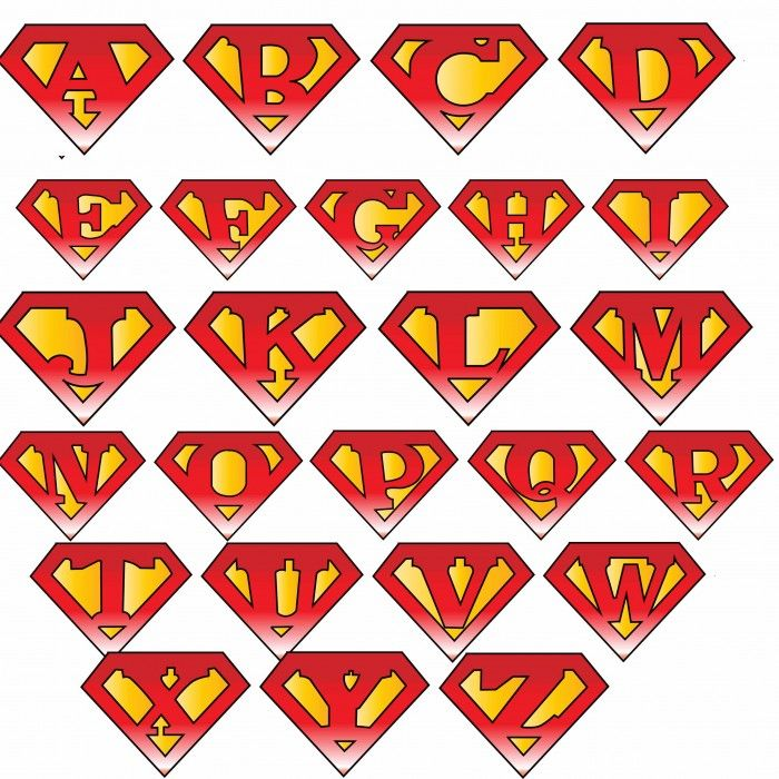 Free alphabet logo clipart picture royalty free stock 17 Best ideas about Superman Logo on Pinterest | Superman ... picture royalty free stock