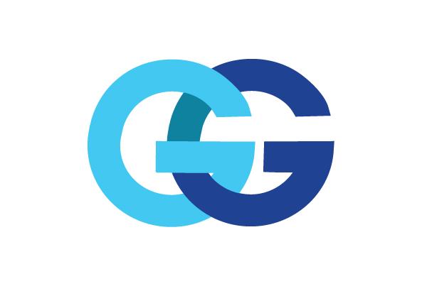 "Free alphabet logo clipart svg freeuse 407. Two Blue Alphabet ""G"" Logo Design | Free Logo Design | Vector ... svg freeuse"