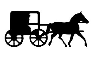 Free amish buggy clipart. Station