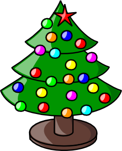 Free angel tree clipart clipart free stock Christmas Tree Clipart | Clipart Panda - Free Clipart Images clipart free stock