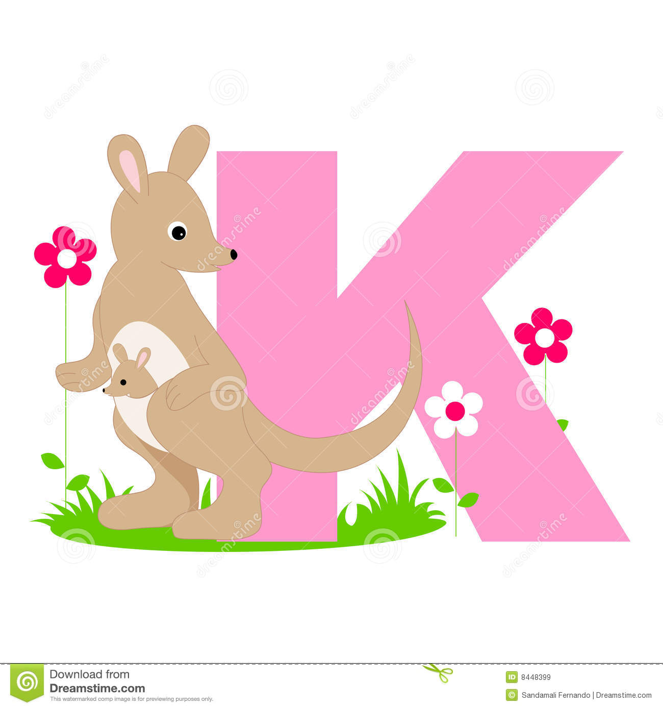 Free animal alphabet clipart freeuse stock Animal Alphabet K Royalty Free Stock Images - Image: 8448399 freeuse stock