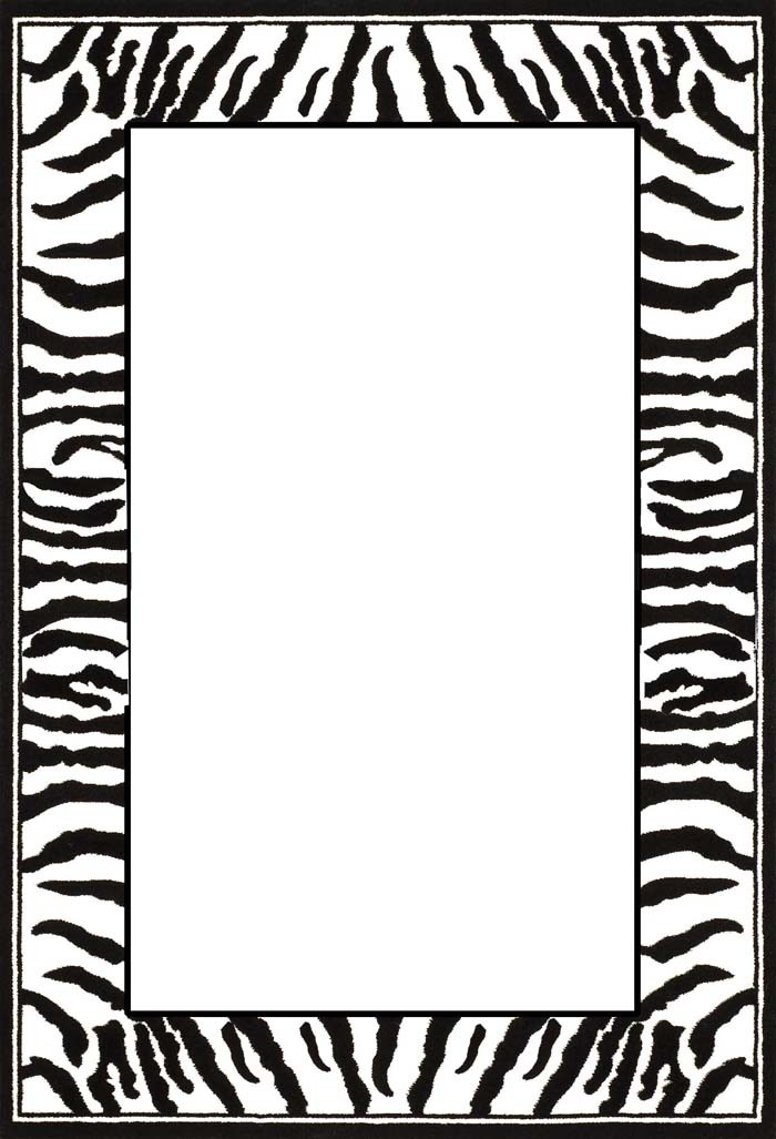 Free black and white clipart for leopard image free stock Animal Cliparts Border | Free download best Animal Cliparts Border ... image free stock