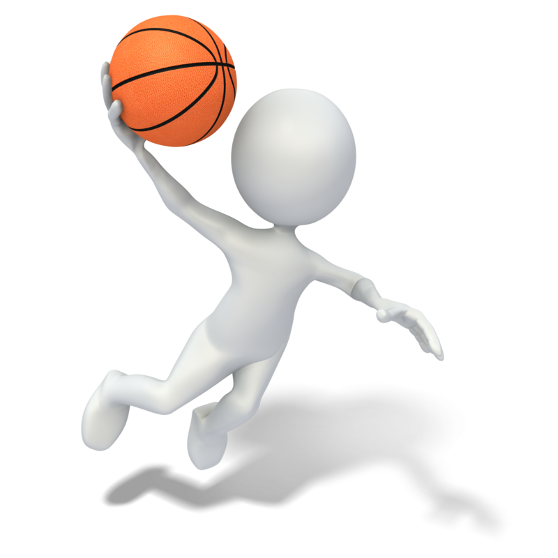 Free animated basketball clipart clip art black and white download Basketball Stick figure Slam dunk Animation Clip art - Boy Playing ... clip art black and white download