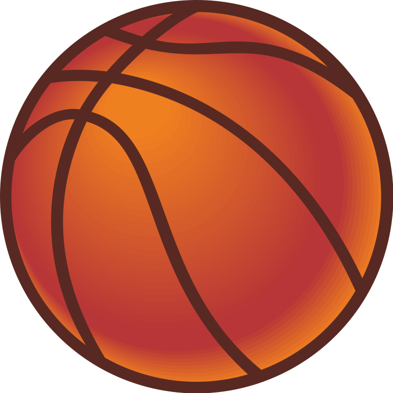 Free basketball hoop clipart svg black and white stock Basketball | Free Stock Photo | Illustration of a basketball | # 14493 svg black and white stock