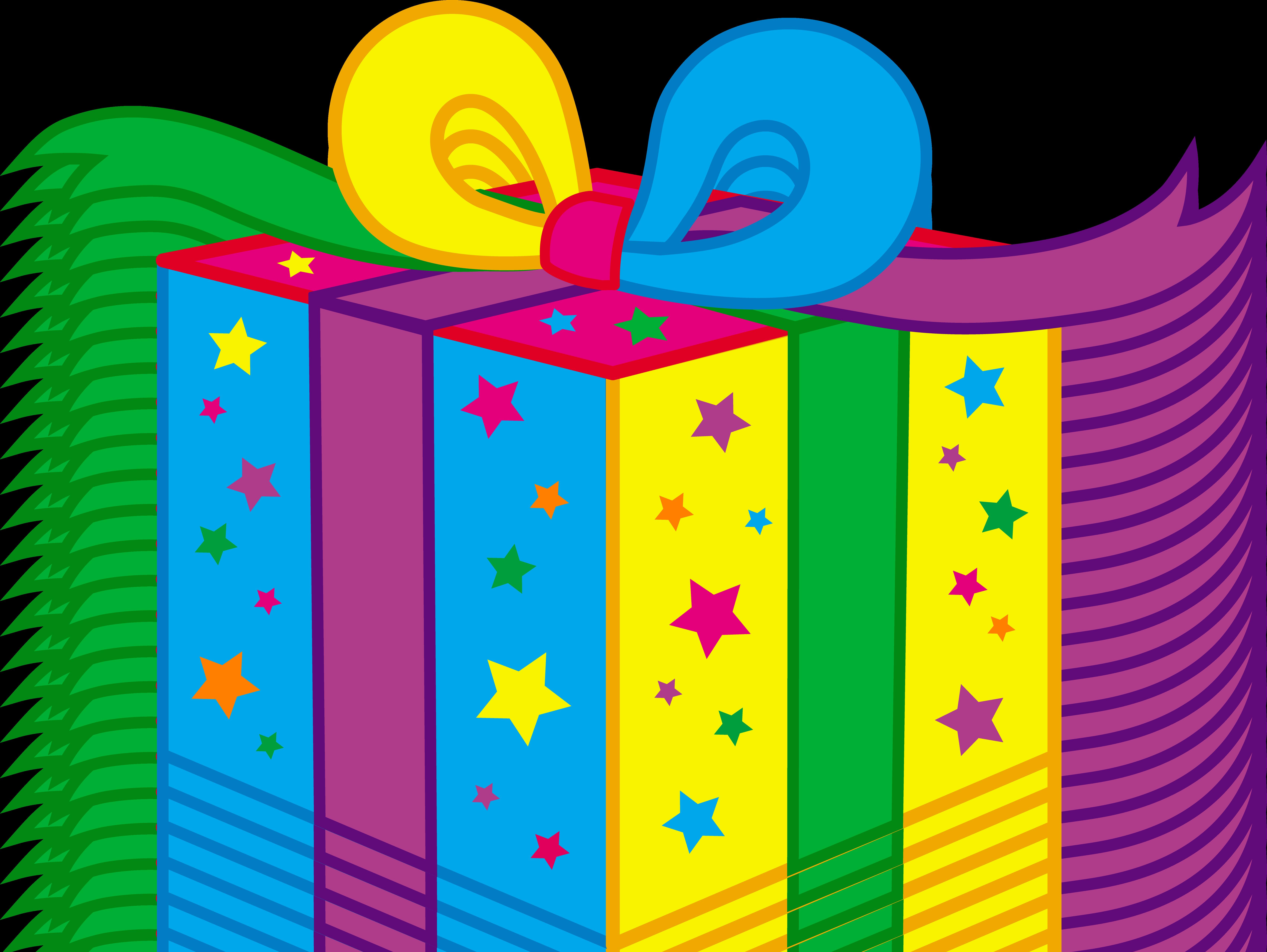 Free animated clipart birthday jpg transparent stock Birthday Gift Clipart jpg transparent stock