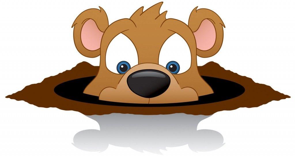 Groundhog cartoon clipart banner stock Happy Groundhog Day Clip Art | Groundhog Day | Groundhog day, Happy ... banner stock