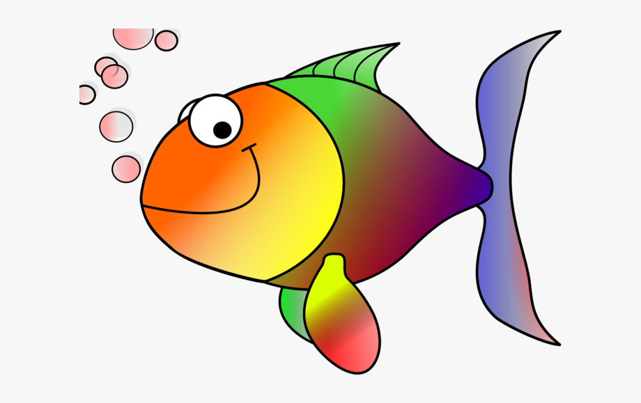 Free animated fish clipart svg freeuse stock Angelfish Clipart - Animated Image Of Fish , Transparent Cartoon ... svg freeuse stock