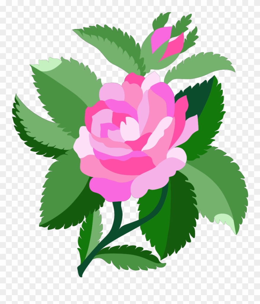 Free animated flower clipart. Rose animations and vectors