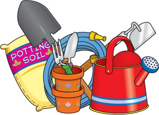 Garden tools clipart free