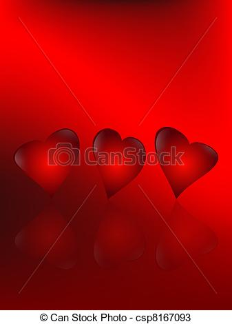 Free animated hearts clipart clip royalty free download Drawings of animated hearts - three animated hearts on a red ... clip royalty free download