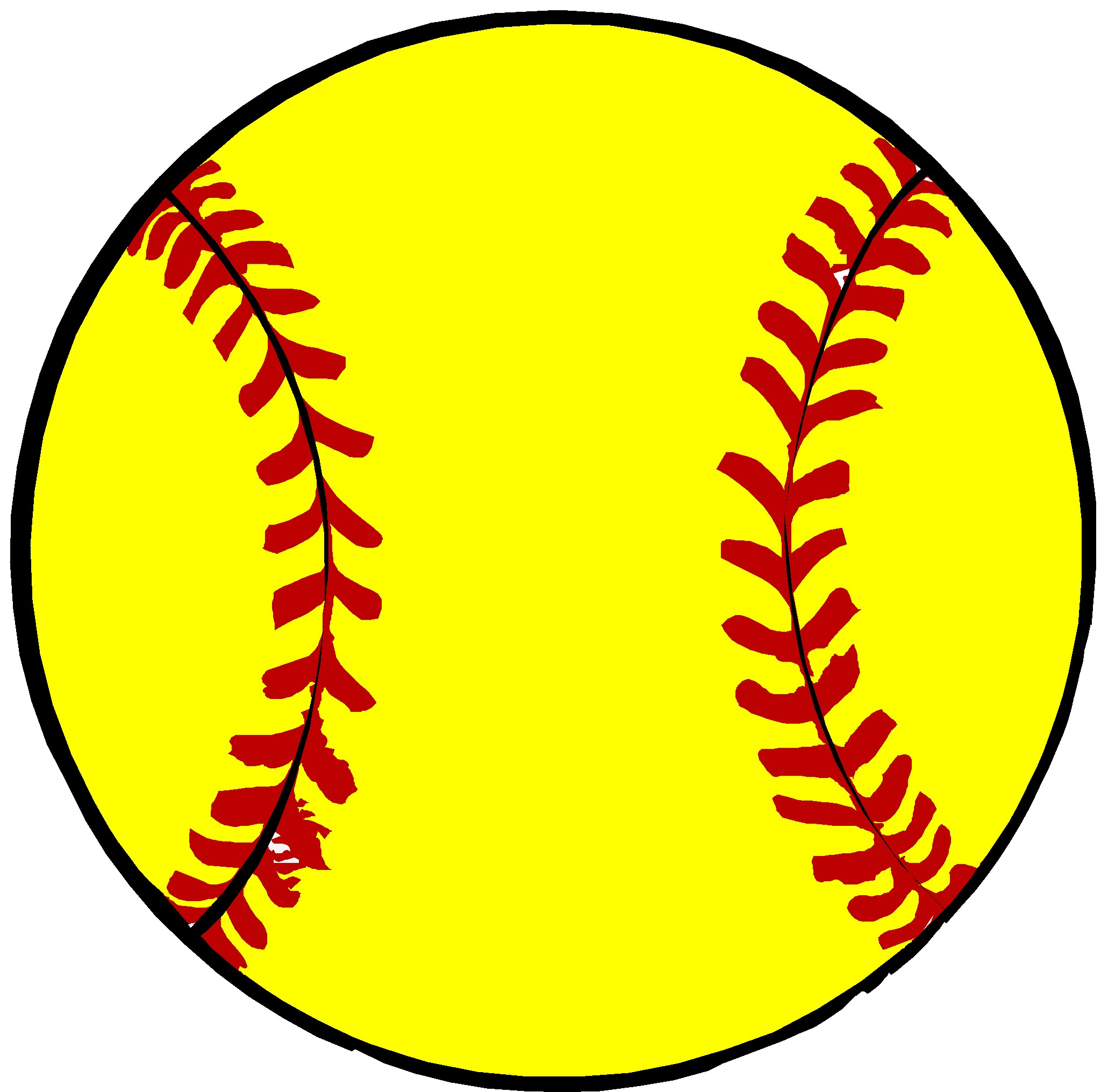 Free animated softball clipart image black and white library Free Love Softball Cliparts, Download Free Clip Art, Free Clip Art ... image black and white library
