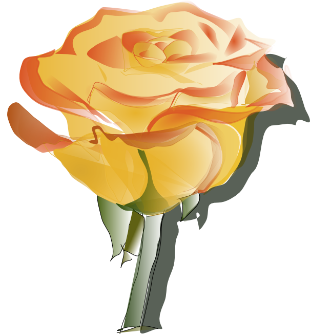 Free animation flowers vector freeuse stock Free Rose Clipart, Animations and Vectors vector freeuse stock